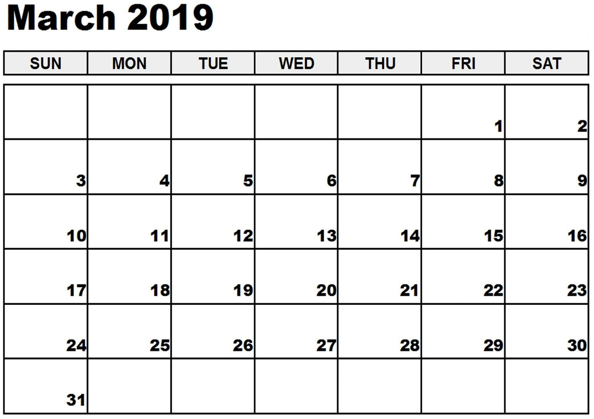 2019 March December Calendar Printable 2019 March Calendar #march #marchcalendar #March2019Calendar