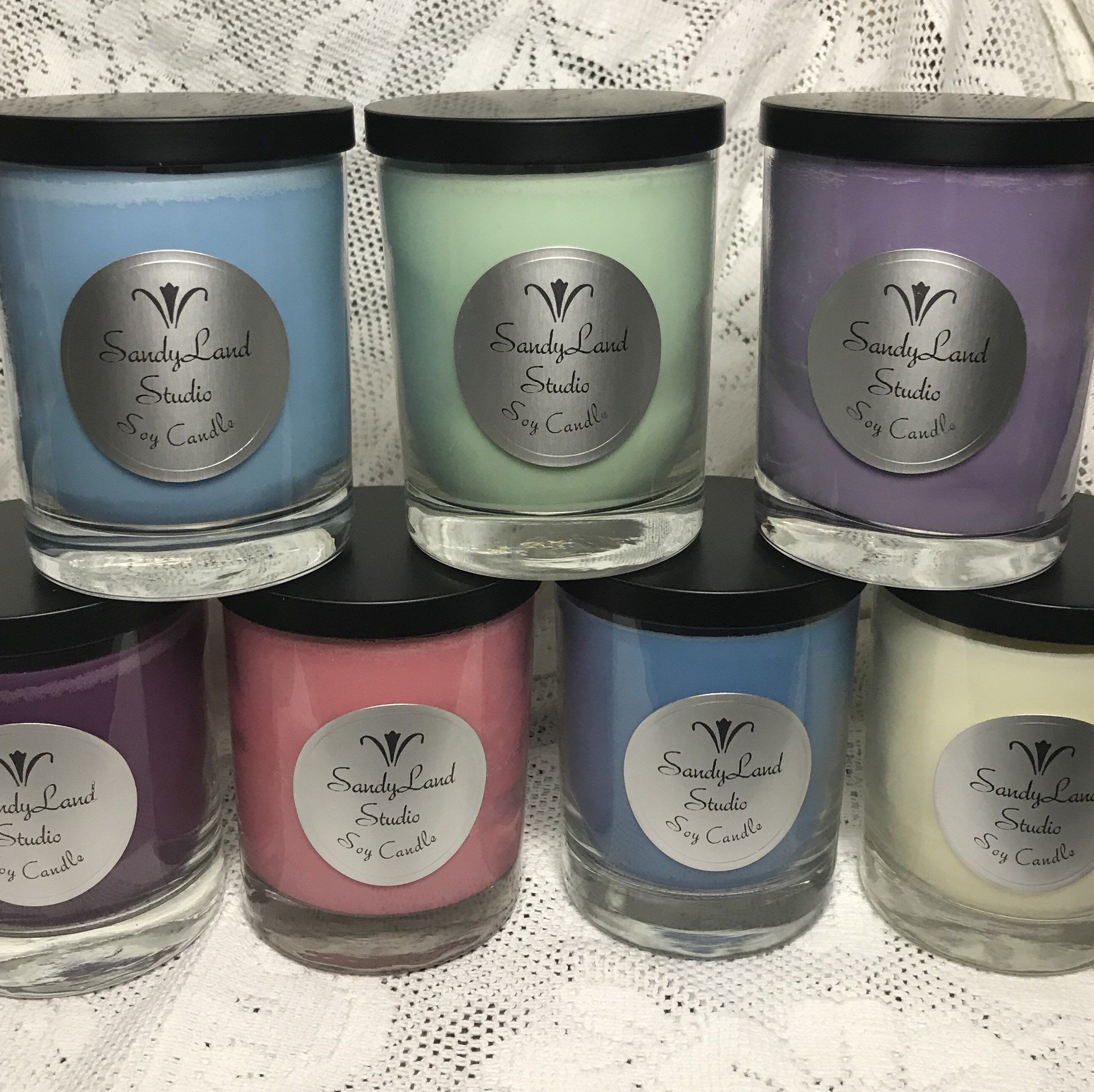 NEW Hand Poured Floral Scents Soy Candles Tarts /& Votives White Pumpkin Lilac