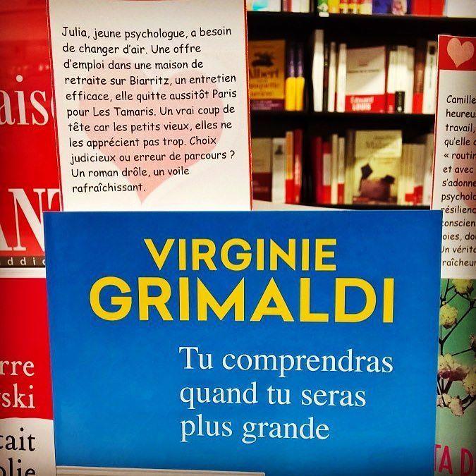 Tu comprendras quand tu seras grande de Virginie Grimaldi. @editionsfayard  Coup de  de la librairie Cheminant @libcheminant  #livre #book #lespetitsmotsdeslibraires