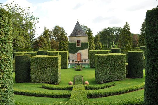Les jardins du manoir d 39 eyrignac la dordogne 24 - Jardin du manoir d eyrignac ...
