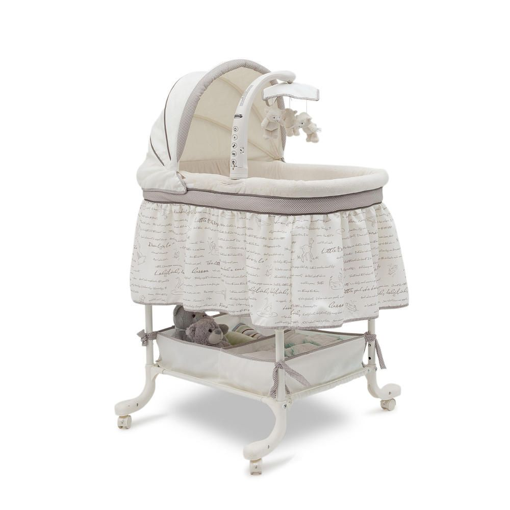 simmons nursery furniture. Simmons Slumber Time Gliding Bassinet - Nursery Rhyme Babies \ Furniture