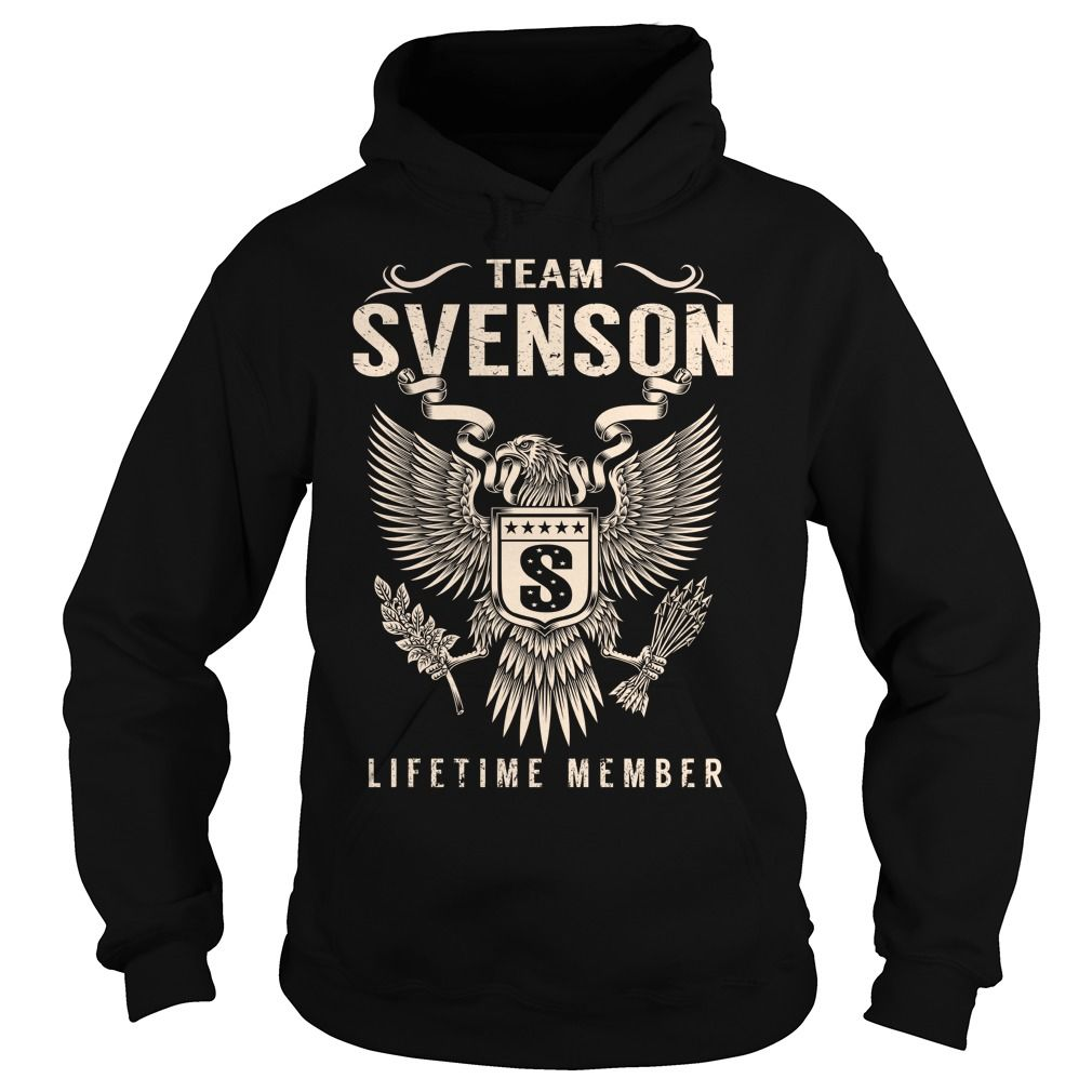 Team SVENSON Lifetime Member - Last Name, Surname T-Shirt