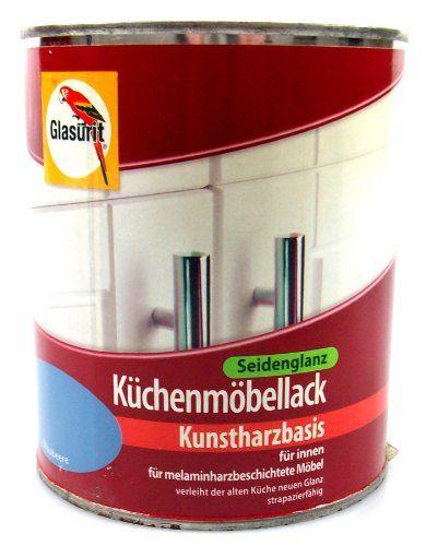 Mit Küchenmöbellack Lässt Sich Eine Alte Küche Neu Gestalten. Mit Der  Richtigen Farbe Für Küchenmöbel