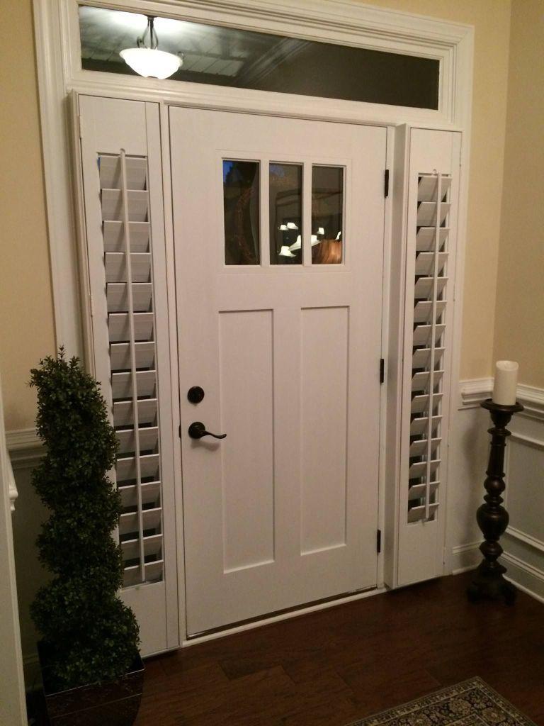 Lovely Front Door Window Coverings in 12   Front doors with ...