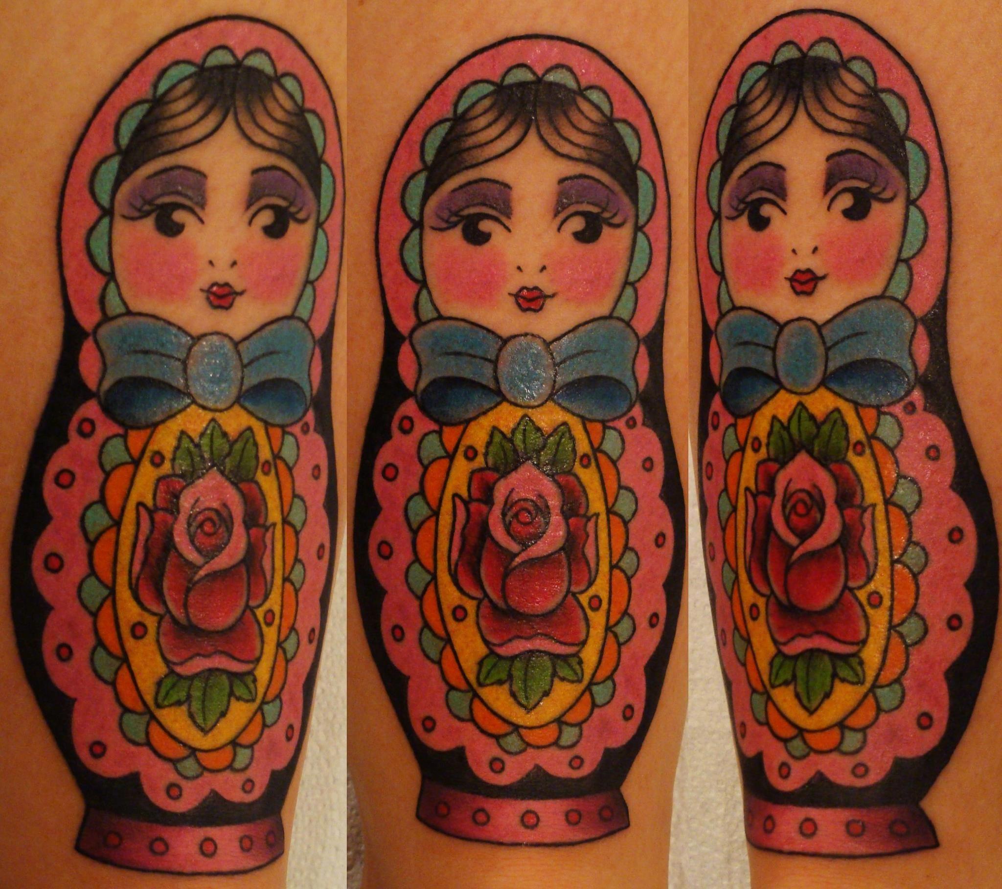 Matrioshka Tattoo -  Isabella Bergo