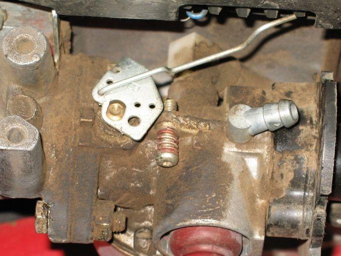 Tecumseh Carburetor Linkage Picture Tecumseh Lev120 Boys Cleaned