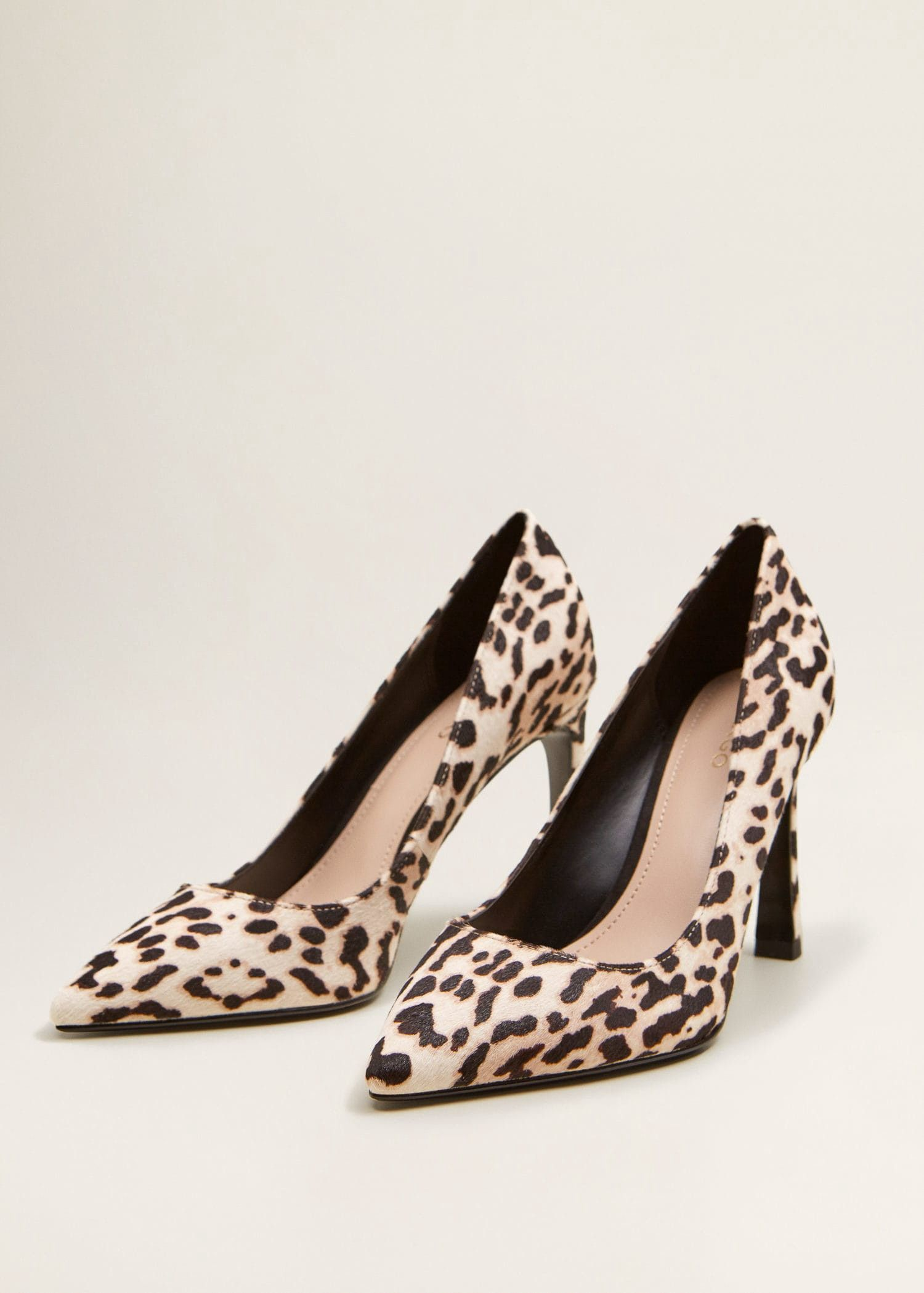 fb82043fb959 Mango Leather Pumps - 6 in 2019 | Products | Leather pumps, Leopard ...