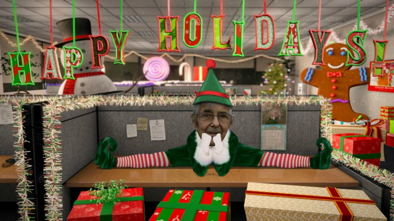 I just had to Elf my Dad! This makes me laugh every time.