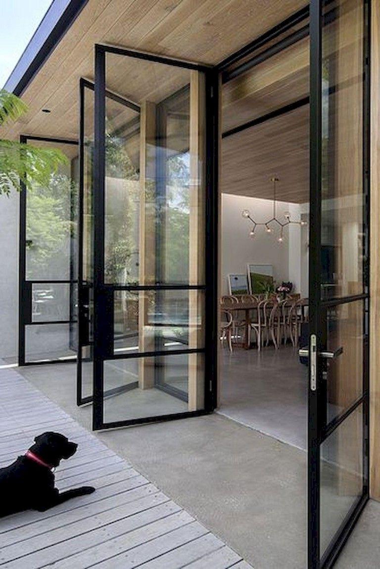 154 Amazing Decorative Glass Doors Ideas Door In 2020 Exterior Patio Doors Sliding Doors Exterior Glass Doors Patio