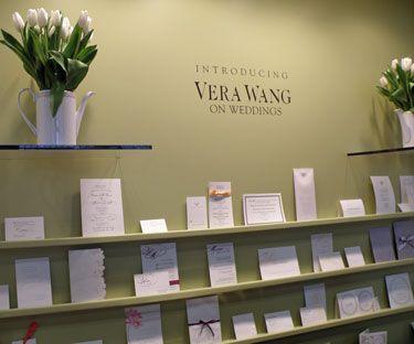 vera wedding invitations   vera wang on weddings display at nss, Wedding invitations
