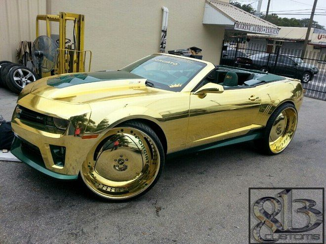 The Most Blinged Out Car Of All Time Donk Cars Custom Cars