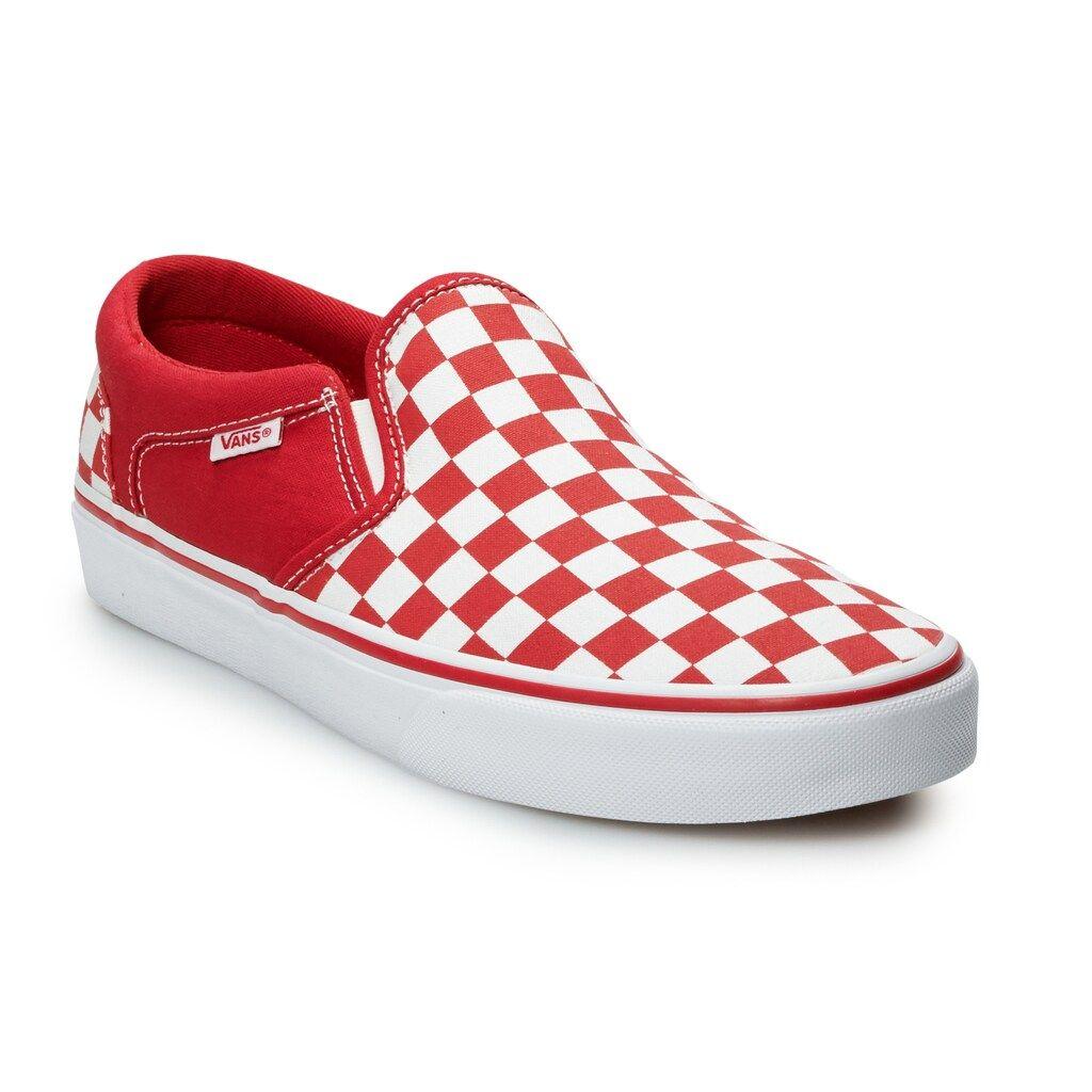 Vans® Asher Men's Checker Skate Shoes
