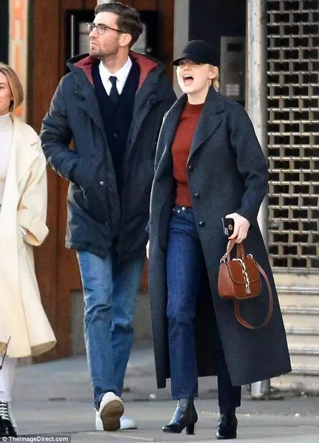 039b1c5a894 Emma stone out and about with boyfriend dave mc cary