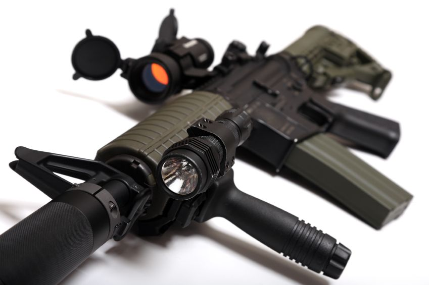 M4A1 Rifle with Optical Accessories