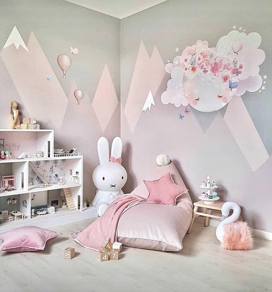 Kinderzimmer Berge