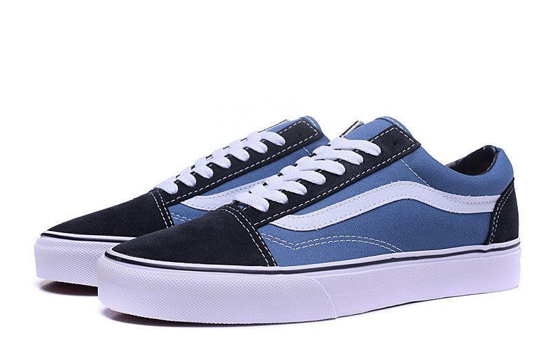 Guangdong] goods VANS / Fan Si classic Vans / Vans blue low to ...