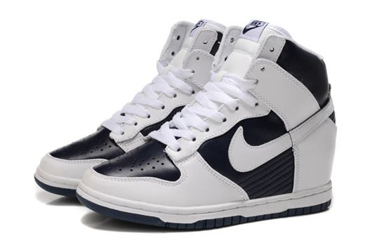 7c81de107cd038 Image for Nike Wedge Sneakers Black And White For Women Pictures To Pin On