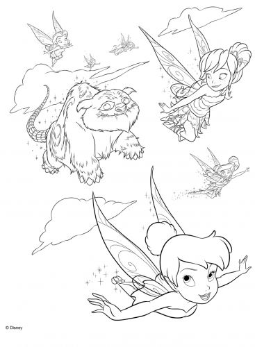 pixie hollow fira coloring pages | Pin by Melody Lacey on Kids | Tinkerbell coloring pages ...