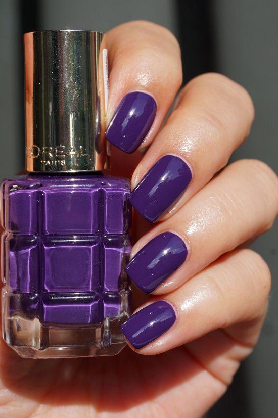 L\'Oréal Color Riche l\'Huile nagellak nail polish 334 Violet de Nuit ...