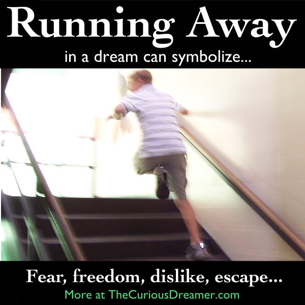 In a dream running away from someone or something can mean more dream dictionary meaning for the dream symbol escaping or running away malvernweather Image collections