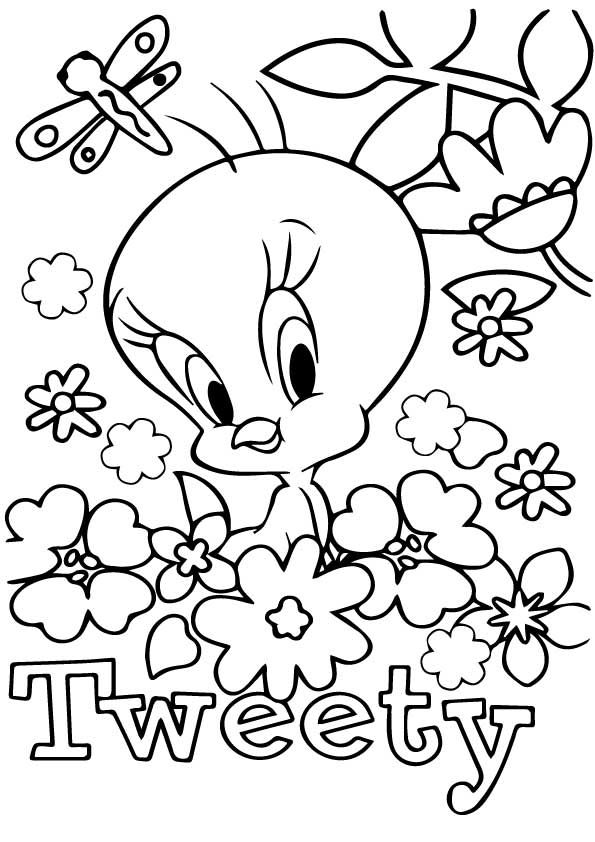Print Coloring Image Momjunction Butterfly Coloring Page Bird Coloring Pages Printable Flower Coloring Pages