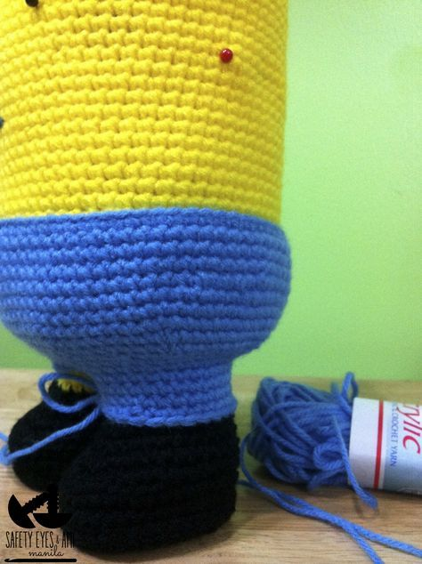Despicable Me Crochet Minion | Ganchillo | Pinterest
