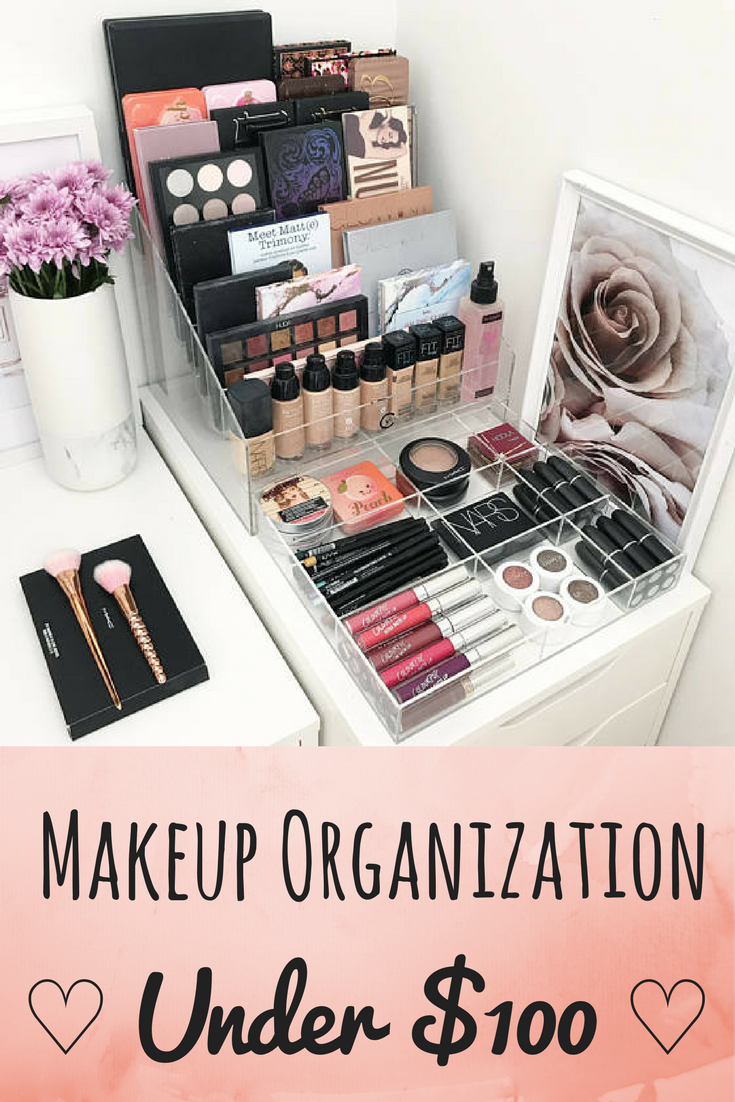 Pretty Makeup Organization Vanity Idea Great For My Bedroom Organizers This At Price Are Hard To Come By Ad