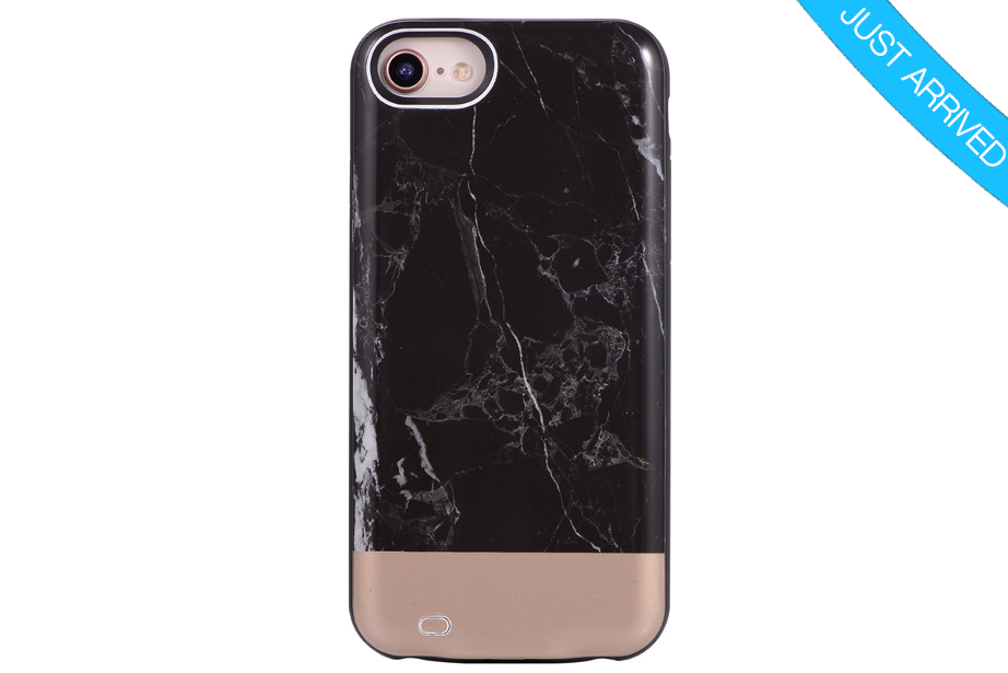 hot sales bff5c 42716 Black & Rose Gold Duo Marble Battery Power Phone Case | BUYBUYBUY ...