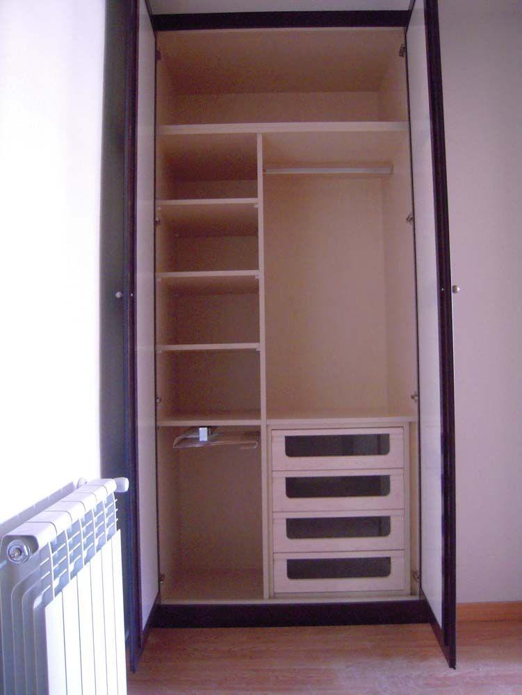 Puertas batientes armarios armario armarios a medida for Medidas de puertas interiores
