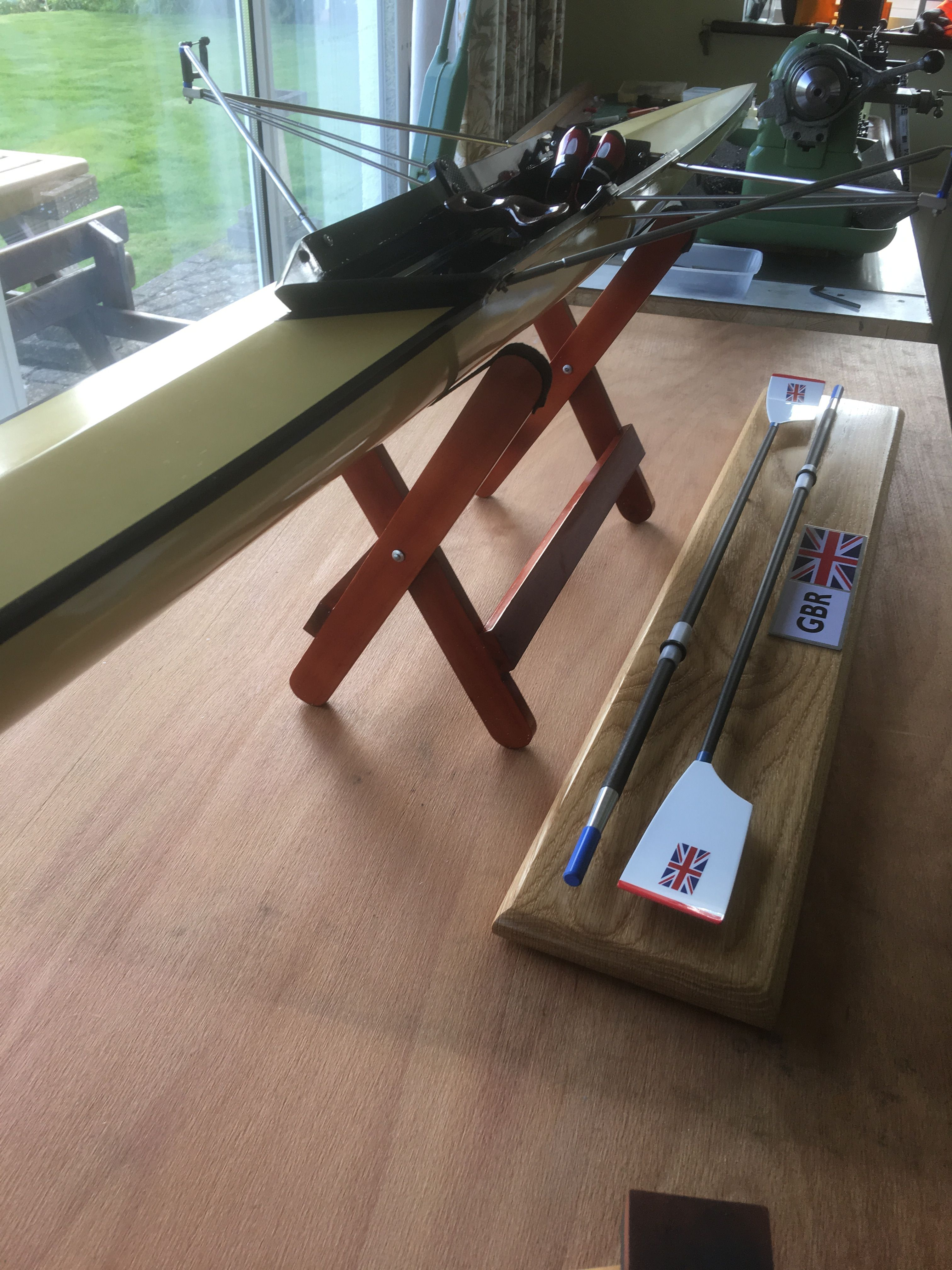 1/4 Scale model empacher single scull   Rowing / Sculling   Sculling