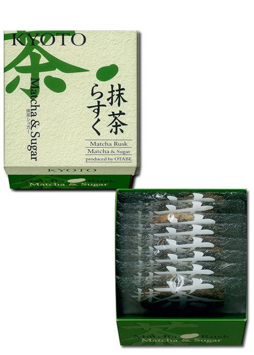 교토 러스크 탄생한 지 300년이 넘은 야쯔하시. 야쯔하시나 오타베에 사용되고 있는 계피(시나몬)과 설탕을 사용한 러스크. 그리고, 교토에서 사랑받고 있는 우지 맛챠를 넣은 러스크. 새롭게, 참깨가 듬뿍 뿌려진 러스크. 교토를 대표하는 2가지의 맛과, 새로운 식감의 러스크로 완성되었습니다.