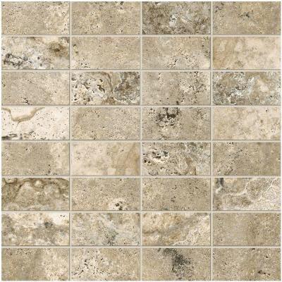 Marazzi Travisano Bernini 12 In X 8 Mm Porcelain Mosaic Floor