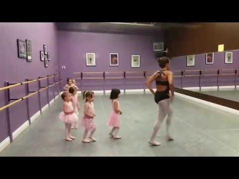 3 Year Old Ballet Class Youtube Toddler Dance Classes Baby