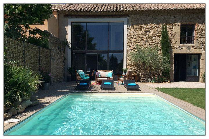 Location mas provence avec piscine pour 6 personnes #vacances - location vacances provence avec piscine