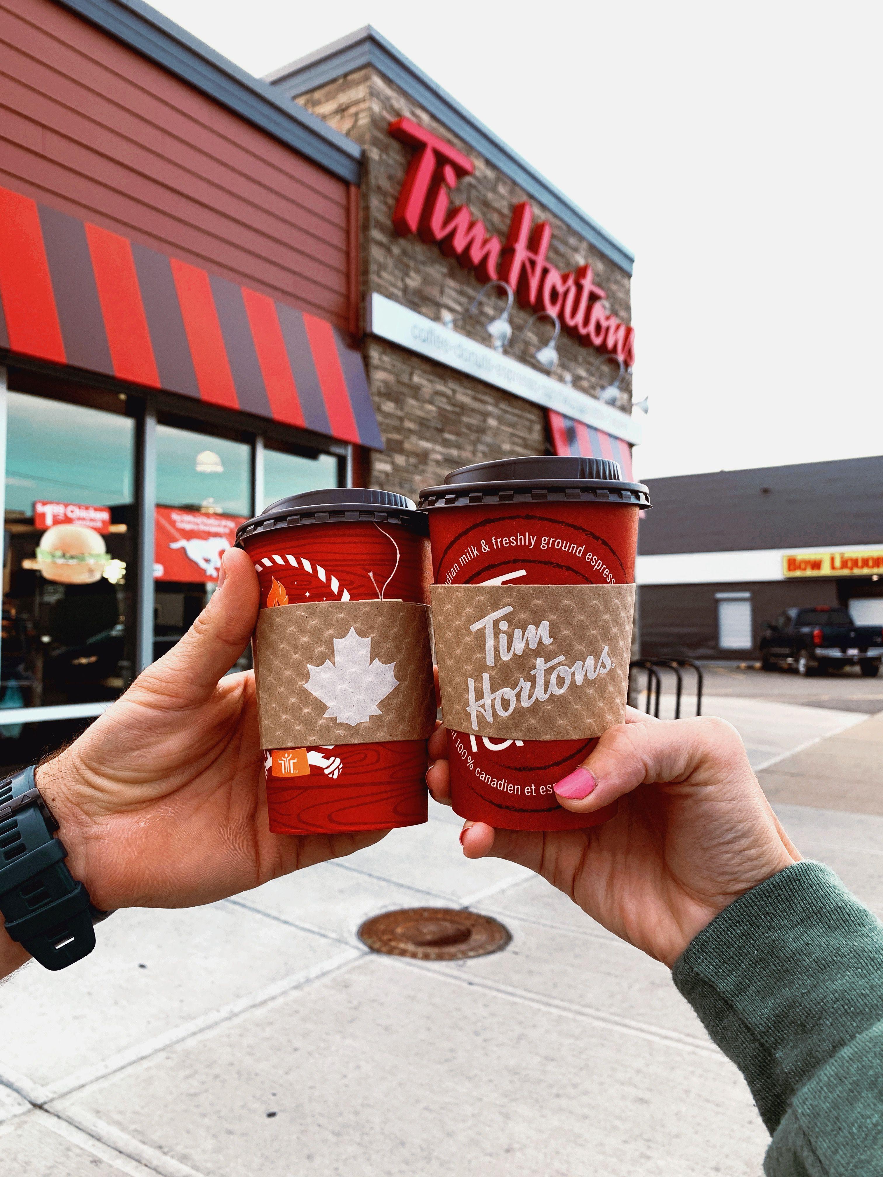 Tim Hortons Tim Hortons Tim Hortons Coffee Tim Hortons Canada