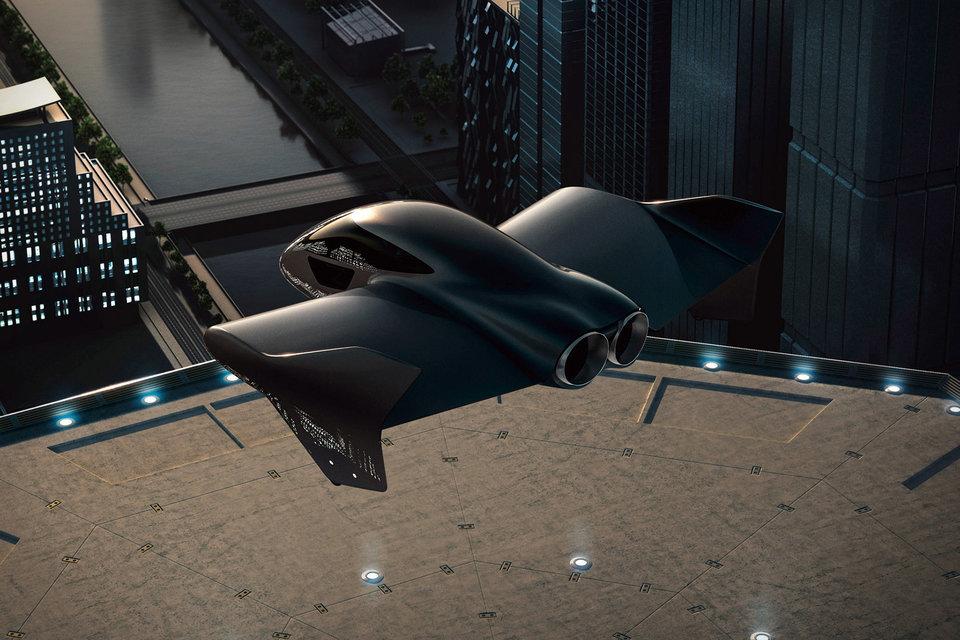 Porsche x Boeing Air Mobility Vehicle Porsche, Flying