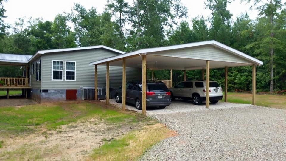Carport remodelmanufacturedhome Manufactured home porch