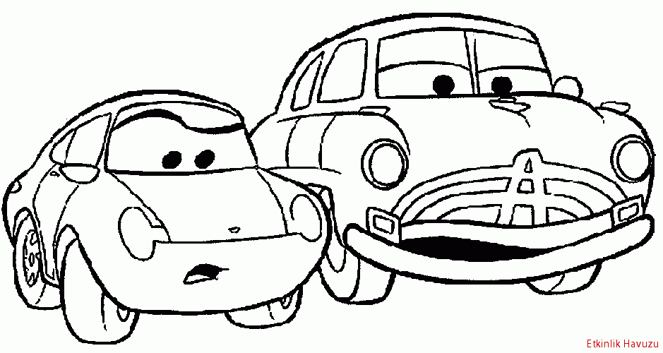 Simsek Mcqueen Boyama Oyunlari Gazetesujin Coloring Pages Cars Coloring Pages Car Cartoon
