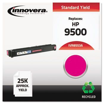 Remanufactured C8553a (9500) Toner, 25000 Yield, Magenta