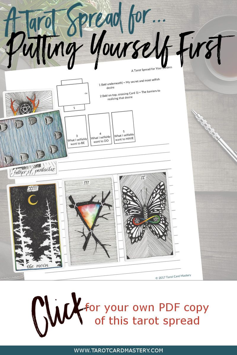 Get This Free, PDF Printable Tarot Spread From Www