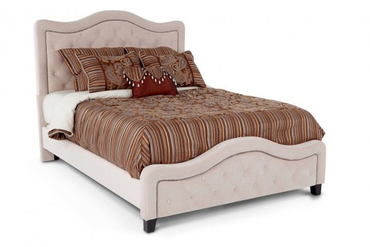 Troy Queen Bed Beds Headboards Bedroom Bob S Discount