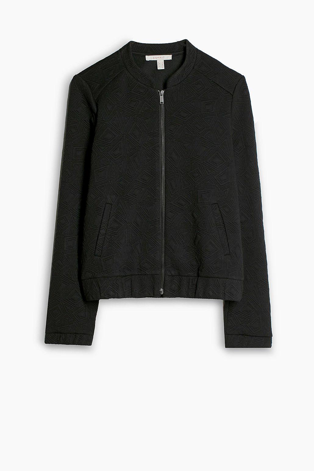 En Blouson Style Wx7gzqwu Esprit Casual Jersey Stretch Et dpXcSwqX