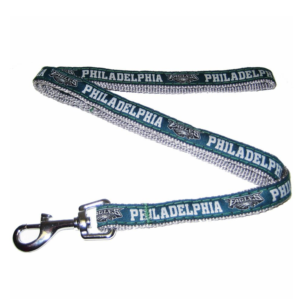 Philadelphia Eagles NFL Dog Leash size  4 L x 0.625