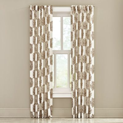 Found it at Wayfair - Elyseum Silk Single Curtain Panel