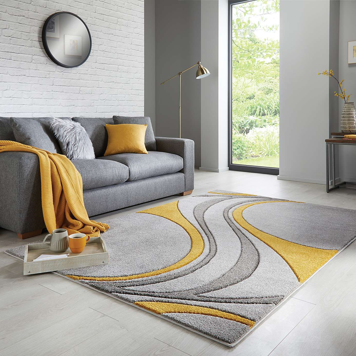 Ochre Mirage Rug With Images Rugs