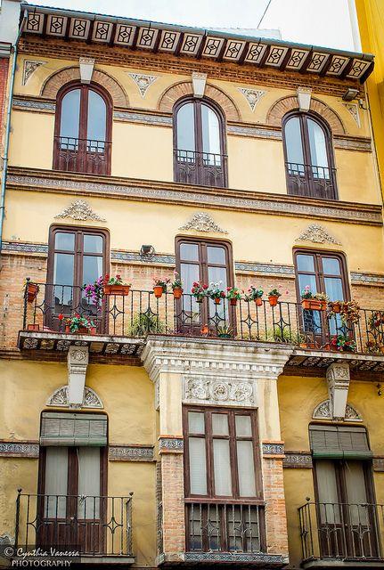 Malaga Andalusia Spain Arquitectura Y Fachadas