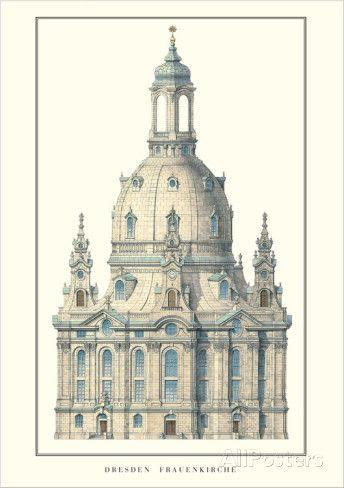 Frauenkirche, Dresden   George Bähr