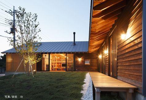 外観2 つづく家 外観事例 Suvaco スバコ 平屋外観 和風の家の