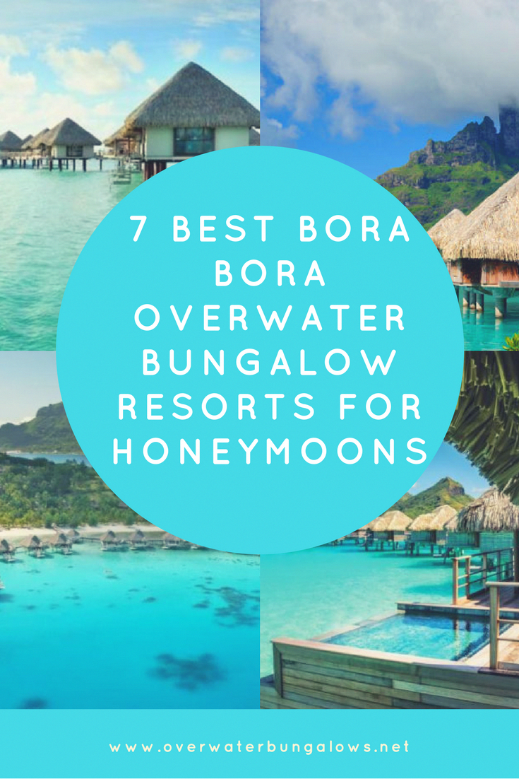 Honeymoon Destinations For Romantic Couples: An Island Is A Great Honeymoon Vacation. These Overwater