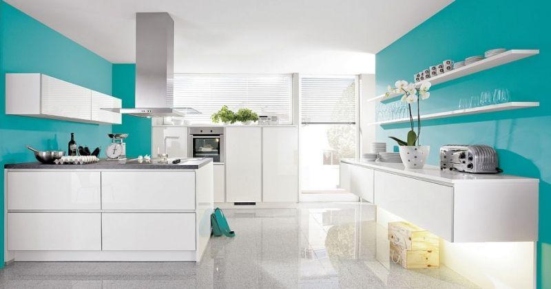 Cocinas modernas de color buscar con google cocinas for Colores para cocinas modernas